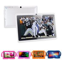 "7"" HD Android 4.4 A33 8GB Quad Core Dual Camera Kids Child Tablet PC Bundle Case"