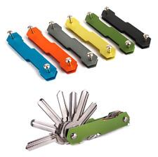 New Aluminium smart key holder keyring organizer pocket keychain edc pocket tool