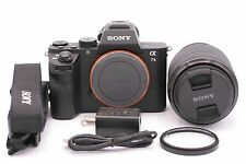 Sony Alpha a7 II 24.3MP Digital Camera - Black (Kit w/ FE OSS 28-70mm Lens)
