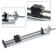 Manual Linear Actuator Ball Screw Motion Linear Sliding Table 200mm With Handwheel