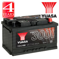 Yuasa Car Battery Calcium 12V 650CCA 71Ah T1 For Ford Mondeo MK3 2.2 TDCi