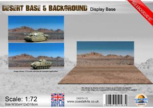 Coastal Kits 1:72 Scale Desert Base & Background set