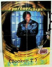 WWE - ABSOLUTE DIVAS 2002 - BOOKER T - MINI POSTER
