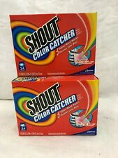 Lot of 3 - Shout Color Catcher 24 Sheet Free Shipping