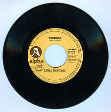 Philippines CARLA MARTINEZ Promises OPM 45 rpm Record