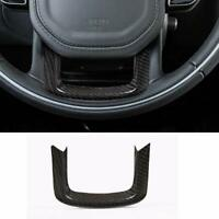 Real Carbon Fiber For Range Rover Sport 2014-2019 Steering Wheel Trim Cover