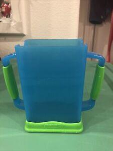 MyDrinky Lime//Aqua The Adjustable Juice Box Holder 2 Pack