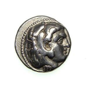**MACEDON Phillip III Silver Tetradrachm 323-317BC** TG238E