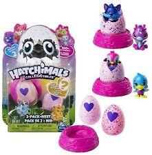 Hatchimals 2 Eier + Nest im Set ca. 4,5 cm Groß NEU