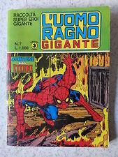 RACCOLTA SUPER EROI GIGANTE n° 7 DEL 1981 CORNO STATO OTTIMO NO RESA