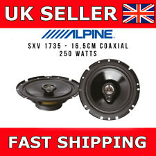 "Car Front / Rear Door Speaker Upgrade Alpine SXV-1735E 6.5"" 250W Coaxial 16.5cm"