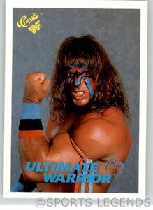 1990 Classic WWF WWE #127 Ultimate Warrior
