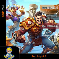Torchlight 3 (PS4 Mod)-Max Level/Skill Points