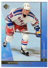 WAYNE GRETZKY 1996/97 96/97 UPPER DECK SP AUTHENTIC PROMO CARD NEW YORK  RANGERS