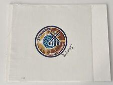 More details for paul weitz nasa astronaut signed skylab beta cloth - with coa - rare item