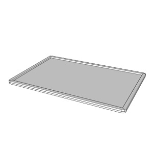 TRANSPARENT / CLEAR ACRYLIC 100mm x 50mm MOVEMENT TRAYS for Roleplay Miniatures