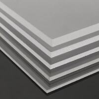 Clear Acrylic Square Sheet Plastic Panel Cut Multi Various sizes 2-10mm Thick