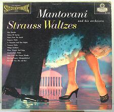 "12"" 33 RPM STEREO LP - LONDON PS-118 - MANTOVANI - STRAUSS WALTZES (1959)"