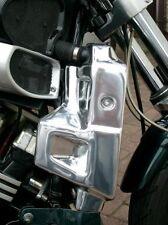 Yamaha V-Max 1200 Radiator Side Covers in Polished Aluminium © Exactrep
