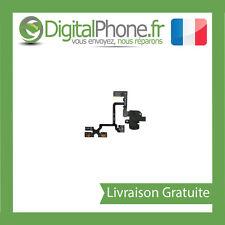 NAPPE PRISE JACK + VOLUME + VIBREUR pour IPHONE 4 NOIR