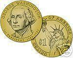 "2007 WASHINGTON PRESIDENT DOLLAR ""P or D"" MINT~~25~ROLL"