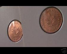 2x 1 PF  1969-1970  J-- bfr--stempelglanz--Traumstücken