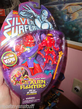 SILVER SURFER ALIEN FIGHTERS SERIES IVAR AND ANT WARRIOR  FREE U.S. SHIP