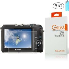 [3x] Tempered Glass Screen Protector For Canon PowerShot M2 G15 G16 SX600 S