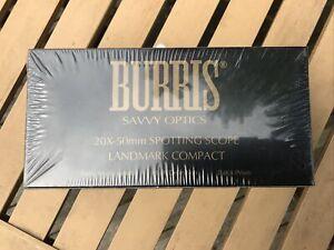 Burris 20X-50mm Landmark Compact Spotting Scope