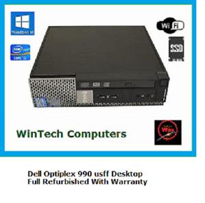 Dell Optiplex 990 usff i5 8GB Ram Desktop Computer