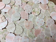 100 Balloon Embellishment Card Making Scrapbooking Crafts Pink Neutrals Vintage