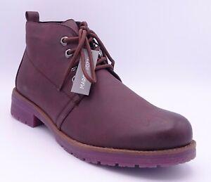 Marco Tozzi Women's Merlot Antic Lace Up Ankle Boots Size UK 7.5 EUR 41