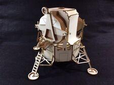 Découpe Laser Bois Lunar Landing Module 3D/Modèle Puzzle Kit