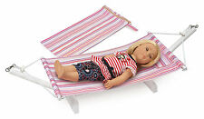 Doll Hammock, Stand & Travel Bag -FITS AMERICAN GIRL DOLL- NEW -Great Gif!