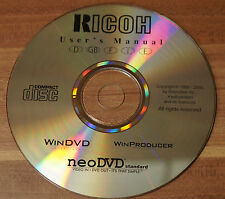 CD RICOH User´s Manual WinDVD WinProducer neoDVD