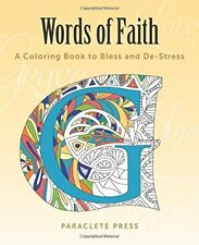 Words of Faith: A Coloring Book to Bless and De-St