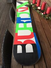 Burton All- Mountain Race Board - Custom X - 160 cm + Camber + großer Service +