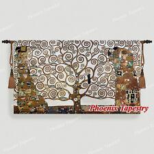 "Gustav Klimt Tree of Life (Full Version) Art Tapestry Wall Hanging, 54""x31"" ,UK"