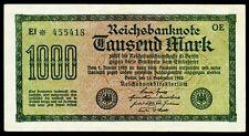 DEUTSCHLAND. GERMANY. 1000 Mark 15.9.1922. Ro. 75a. VORZÜGLICH.