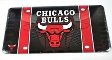 USA Auto License Plate Deko Blechschild NBA Basketball Chicago Bulls