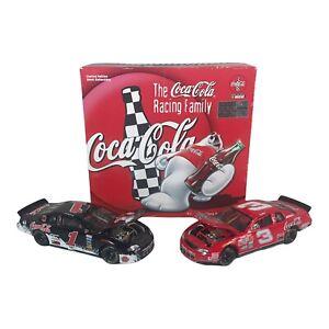 Dale Earnhardt Sr Jr #3 Coke & #1 Polar Bear 1998 Monte Carlo Coca Cola 1:32 Car