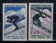 (a14)  timbres de France n° 1326/1327 neufs** année 1962