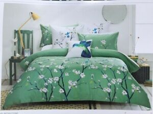 Morgan and Finch Queen quilt cover set NEW
