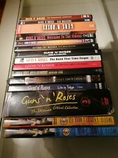 """Guns N Roses 15 DVD COLLEZIONE/Ultra Rare/""""Maestros From the Vault"""".../Read"""