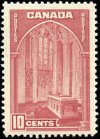 1938 Mint NH Canada F-VF 10c Scott #241 Pictorial Issue Stamp