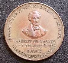 ARGENTINA - SAN JUAN 1904 DR. FRANCISCO NARCISO DE LAPRIDA, CONGRESS PRESIDENT