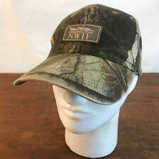 NWTF National Wildlife Turkey Federation Camouflage Adjustable Baseball Cap CH16