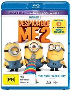 Despicable Me 2 Blu-ray (Pal, 2013) No UV. Free Post