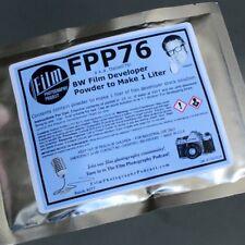 FPP-76 BW Film Developer (D-76 equiv To Make 1 Liter)