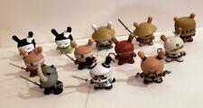 Kidrobot Dunny Gold Life Series, Set of 12 - Huck Gee